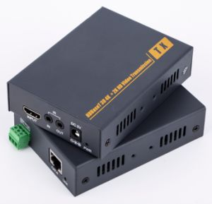 No Compression 100m by Single Cat5e/6 HDMI Extender (IR, RS232) pictures & photos