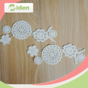 Exellent Machines Elegant Flower Figures Embroidery Patch pictures & photos