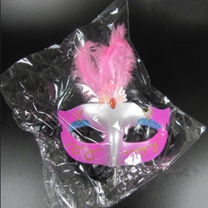 Halloween Party Mask &Party Face Mask with Chicken Feather pictures & photos