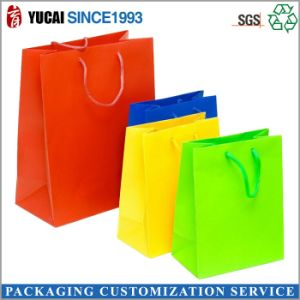 2017 Hot Sale Muti-Color Paper Shopping Bag pictures & photos