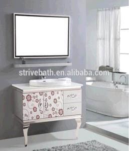 Stainless Steel Lowes Bathroom Sinks Vanities Top pictures & photos