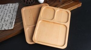 Multifunction Wooden Tray Bamboo Plate Custom Tray Handmade Tray Wholesale pictures & photos
