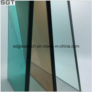 Toughened Laminated Glass Tawny or Green Film for Safety Window pictures & photos