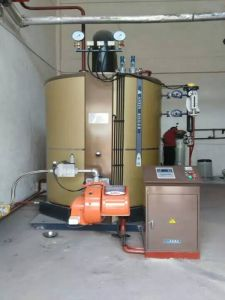 Vertical Oil or Gas Fired Steam Boiler pictures & photos