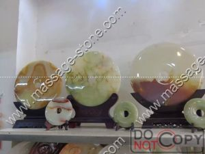 Jade Bi and Jade Disc for Lucky Home Decoration