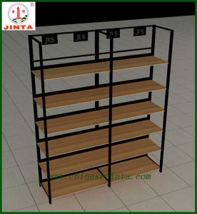 Single Sided Wood and Steel Wall Display Stand (JT-A30) pictures & photos