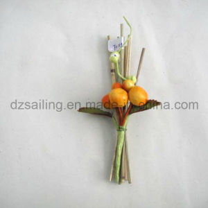 Apple Pick Artificial Flower for Gift Packing and Corsage pictures & photos