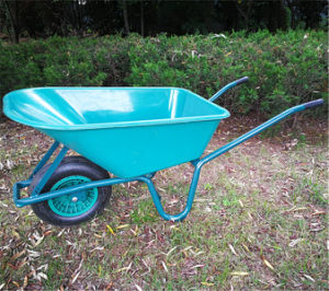 Africa Market Wheel Barrow Wb - 6414 with 50mm Tray pictures & photos