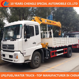 China 4X2 Truck Mounted Crane 5ton 6ton Truck with Crane pictures & photos