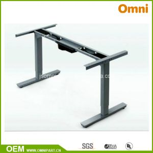 Two Motor and Two Parts Electric Height Adjustable Desk (OM-02ET-AJ) pictures & photos