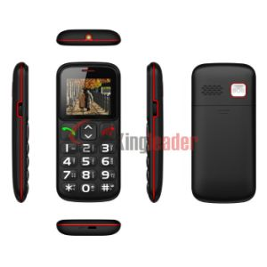 Quad Band GSM Senior Bar Phone with Ce (W105) pictures & photos