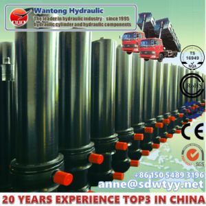 Single Acting Telescopic Hydraulic Cylinders for Dump Truck pictures & photos