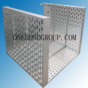 The Design of Regular Perforated Aluminum Panel for Curtain Wall Decoration pictures & photos
