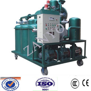 Extra High Voltage Transformer Oil Purifier with ISO9001 Certificate pictures & photos