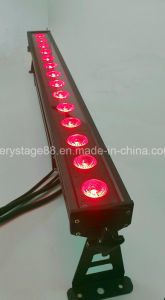15W Rgbwauv 6 in 1 LED Beam Wall Washer Bar pictures & photos