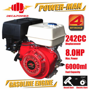 8.0HP 4-Stroke Air-Cooled Recoil Start Gasoline Engine