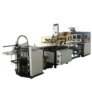 Automatic Rigid Box Making Machine Without Taping Machine (YX-6418B) pictures & photos