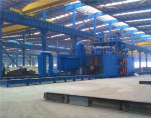 Conveyor Bed Feeding Steel Beam Shot Blasting Machine pictures & photos