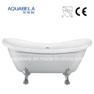 CE/Cupc Approved Pure Acrylic Double Ended Clawfoot Bathtub (JL643) pictures & photos