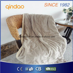 Soft Fleece Single Electric Blanket with ETL Certificate pictures & photos