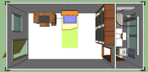 Best Container House Plan Design Accommodation Container House pictures & photos