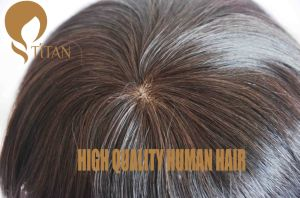 100% Human Hair Wig Can Be Styled with Lace Base pictures & photos