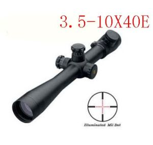 3.5-10X40e Red Illuminated Optical Riflescope pictures & photos