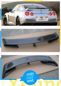 Carbon Fiber Spoiler for Nissan Skyline Gt-R 2010 pictures & photos