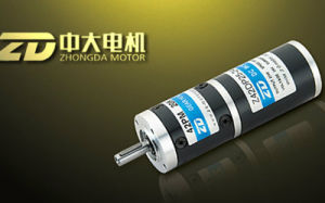 42mm 24V 25W DC Brush Transmission Planetary Gear Motor pictures & photos
