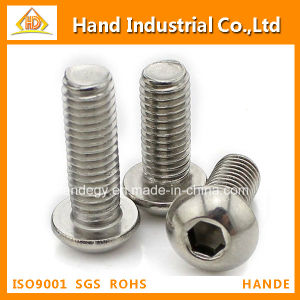 ANSI Stainless Steel 304 Button Head Socket Machine Screw pictures & photos