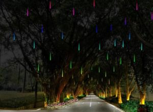 LED Meteor Lights with 100cm pictures & photos