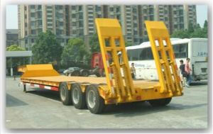 Chinese Brand Tongya Low Flat-Bed Trailer Cty9401tdp for Sale pictures & photos