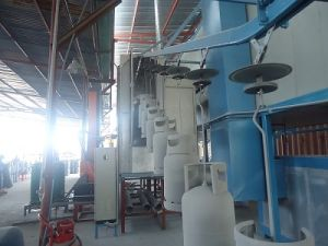 Powder Coating Line for LPG Tank /Cylinders pictures & photos