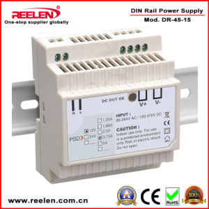 15V 2.8A 45W DIN Rail Power Supply Dr-45-15 pictures & photos