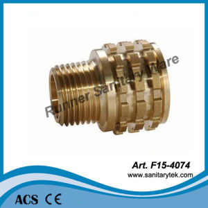 Brass Male Insert for PPR Fitting (F15-4074) pictures & photos