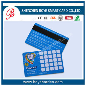 PVC Magnetic Stripe Card pictures & photos