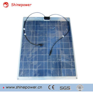 80W Aluminum Semi Flexible Solar Panel /Solar Module. pictures & photos