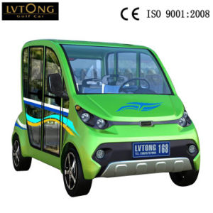 Leisure Fashion Design 4 Seats Electric Cars on Sale pictures & photos