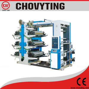 Computer Control Multi Color Flexography Plastic Printing Machine pictures & photos
