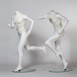 Running Sport Male Mannequin with Linen Wrapped pictures & photos
