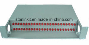 48 Port Rack Mounted Fixed Type Fiber Optic Patch Panel pictures & photos