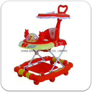2016 New Design Factory Supply Baby Walker with Music Box and Push Bar pictures & photos