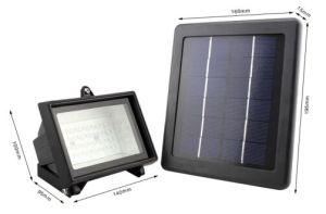 2.5W Outdoor Solar LED Garden Lights with Solar Panel (for lawn/yard)