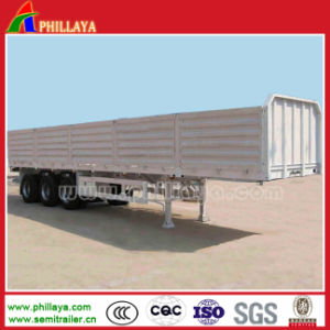 2 Axles 30 Tons Cargo Transporting Side Wall Semi Trailer pictures & photos
