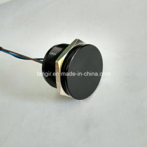 25mm IP68 Waterproof Black Aluminum Latching Piezo Switch pictures & photos
