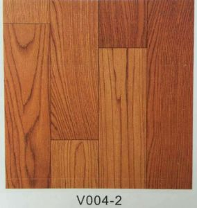 PVC Wood Grain Decorative Sheet PVC Flooring pictures & photos