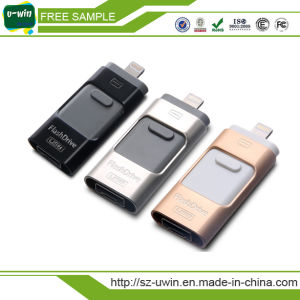 64GB OTG USB Flash Drive for Android/iPhone pictures & photos