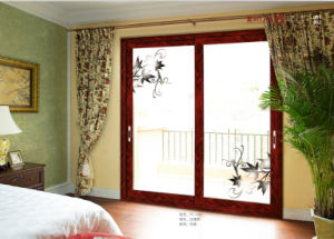 Sliding Doors Aluminium with Electrical Louvers Inside pictures & photos