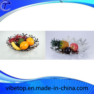 Wholesale Metal Decorative Fruit Basket pictures & photos