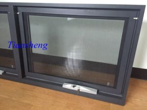 Australia Style Aluminum Awning Window Popular Design with Crimsafe Screens pictures & photos